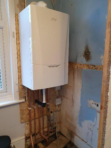 New Boiler installation in Aylesford, Kent.