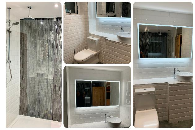 Bathroom installation in Maidstone, Kent.
