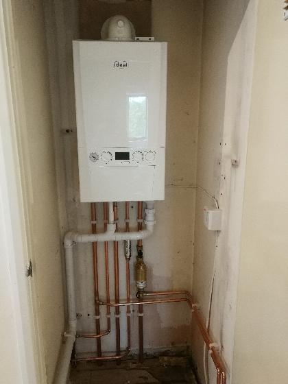 New boiler installation in Maidstone, Kent.
