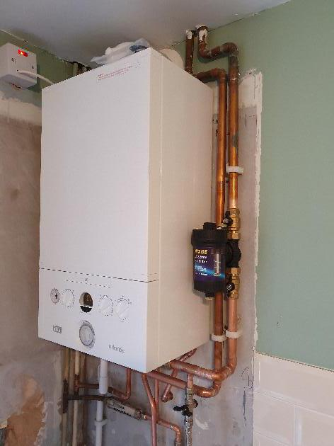 New Boiler installation in Wouldham, Kent.
