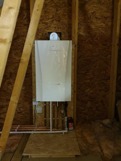 New Boiler installation in Tovil, Maidstone, Kent.