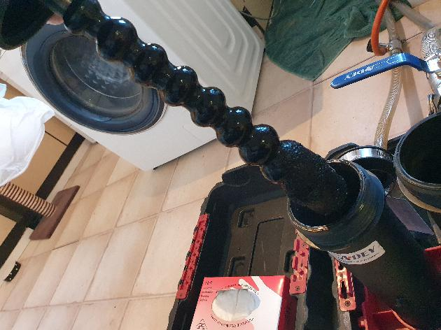 Powerflush results from a central heating system in Snodland, Kent.