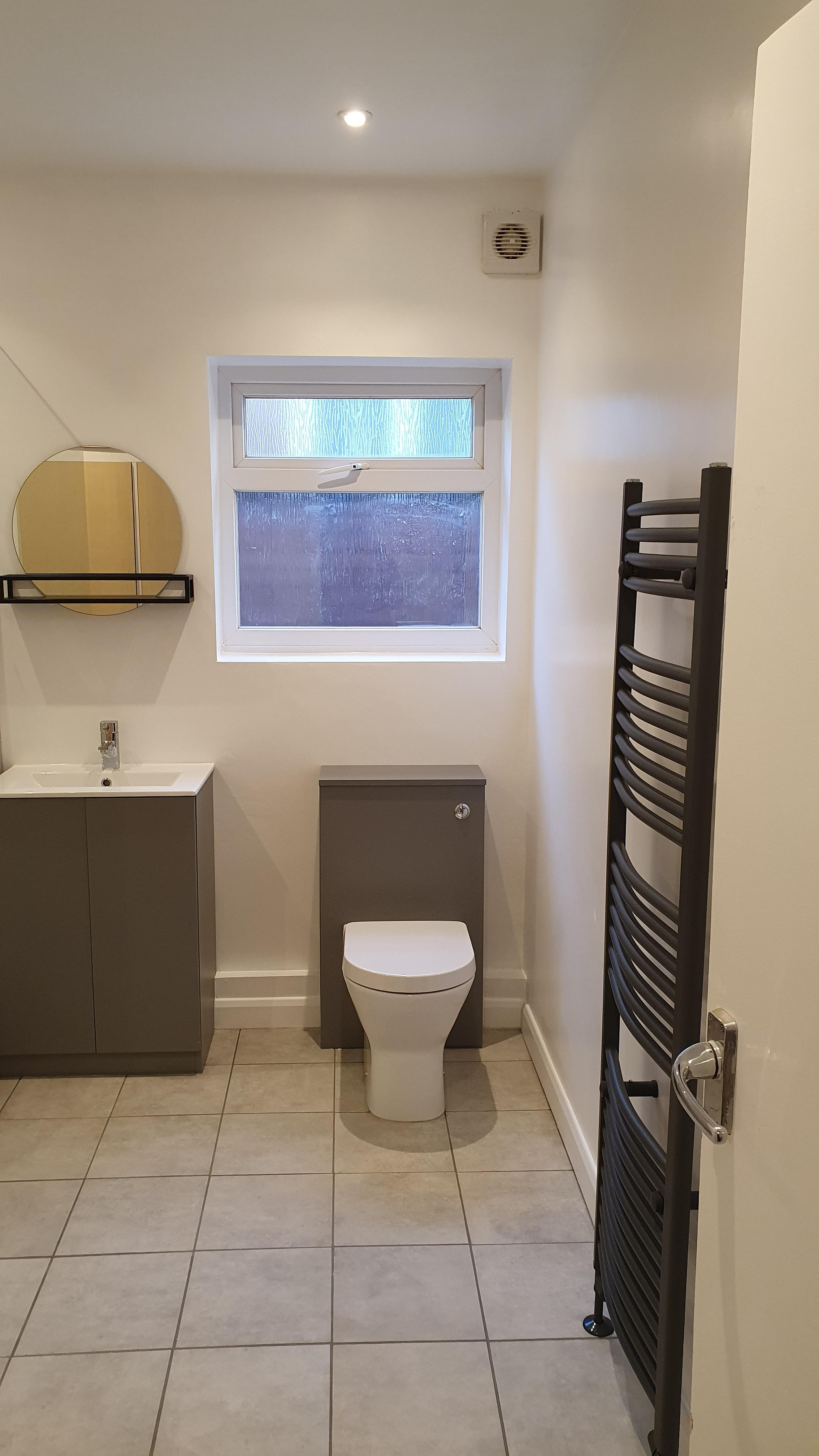 Bathroom refit in Bearsted, Kent.