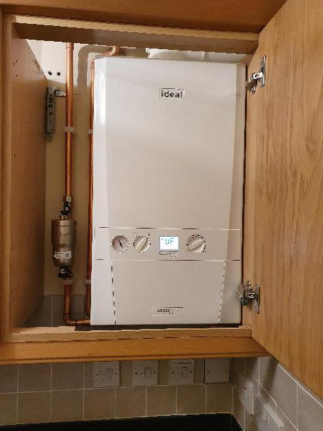New boiler installation in Kings Hill, Kent.