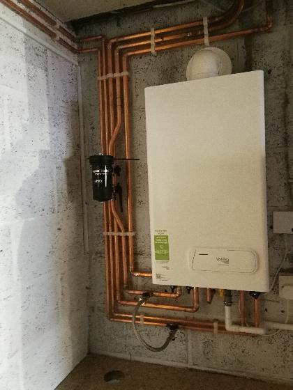 New boiler installation in Larkfield, Kent. Boiler featured is a vokera easi heat with  5 year manafacture warranty.